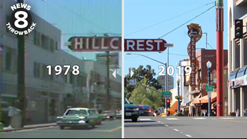 News 8 Throwback: 40-year challenge highlights Hillcrest then and now