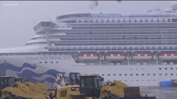 Quarantined evacuees from cruise arrive to U.S. in COVID-19 outbreak