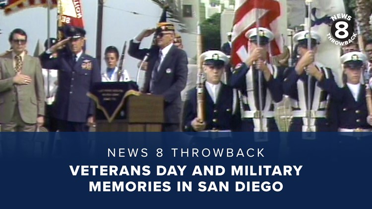 News 8 Throwback: Veterans Day and military memories in San Diego