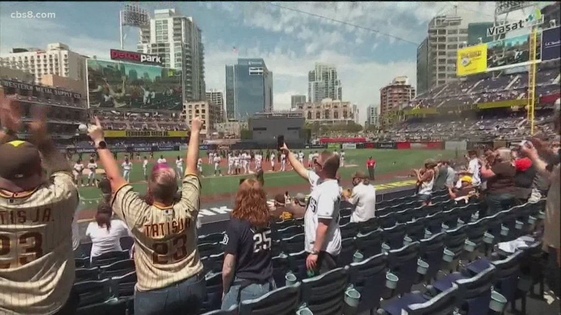 Petco Park's orange tier changes begin Friday night with series against the Dodgers