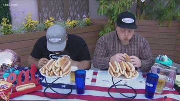 Scarf down hot dogs at Smoking Gun's 4th of July hot dog eating contest
