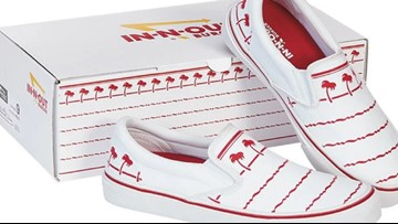 In-N-Out is selling slip-on shoes inspired by its cup design