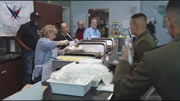 Gary Sinise Foundation serves free meals to active duty military