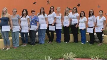 20+ women in Rady Children's Hospital pediatric unit pregnant at same time