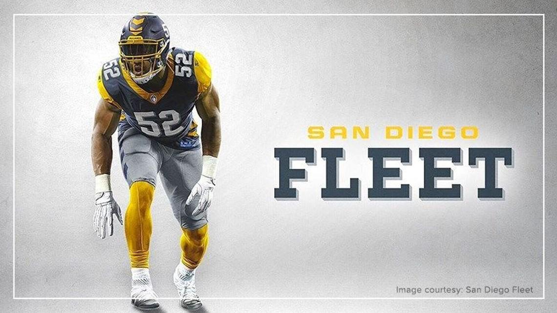 Ja'Quan Gardner San Diego Fleet Game Jersey