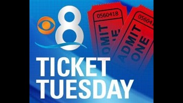CBS 8 Ticket Tuesday