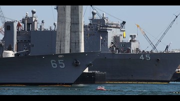 Security lapses found at San Diego shipyards despite Navy rules