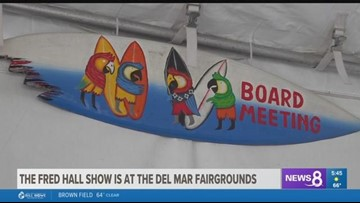 The Fred Hall Show now at the Del Mar fairgrounds