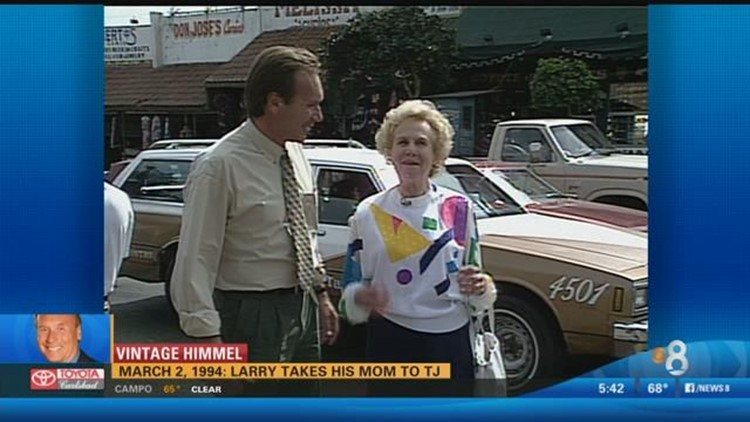 Vintage Himmel - Larry takes his mom to Tijuana