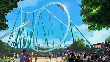 SeaWorld begins construction on new `dive' roller coaster
