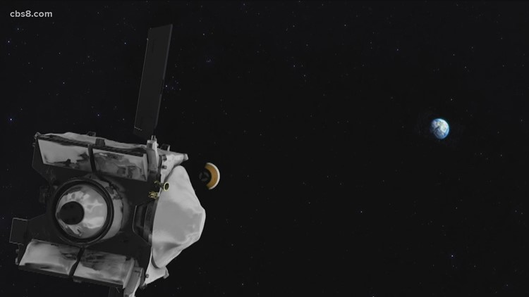 NASA's Osiris Rex prepares to head back to earth after two and a half years