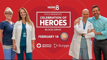 San Diego turns out big time for Kyle Kraska's Celebration of Heroes Blood Drive