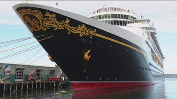 Disney cruise ship arrives in San Diego a day early