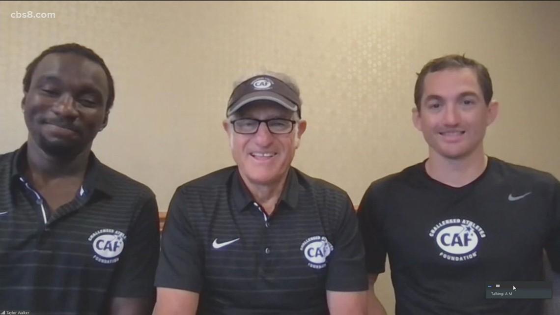The CAF San Diego Triathlon Challenge