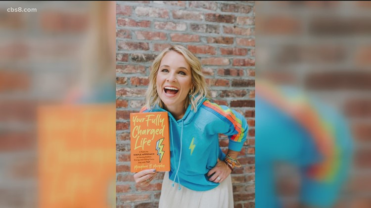Lifestyle expert and author Meaghan B. Murphy shares her tips for a fully charged life and happiness in new book