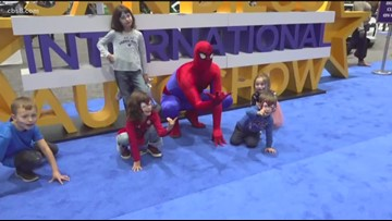 San Diego International Auto Show closes out with 'Family Day' and superheroes
