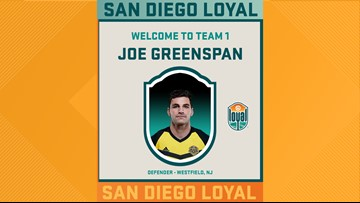 San Diego Loyal soccer team signs former Navy lieutenant as defender