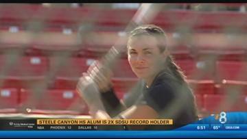 Steele Canyon HS Alum is 2x SDSU record holder