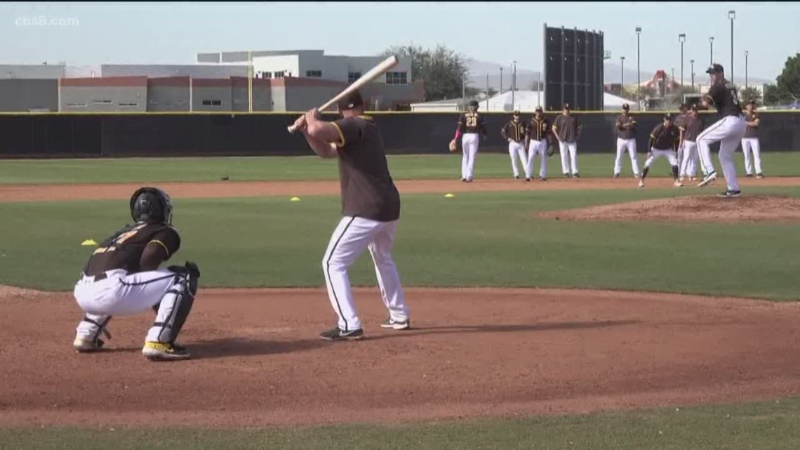 Watch: News 8 hits the road for Padres Spring Training in Arizona