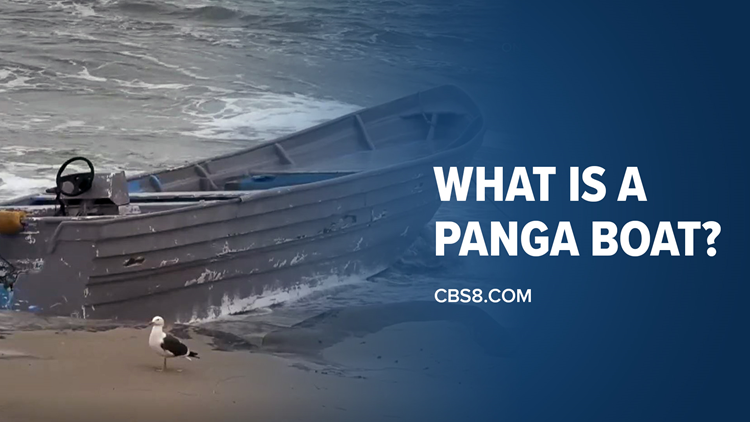 What is a panga boat?