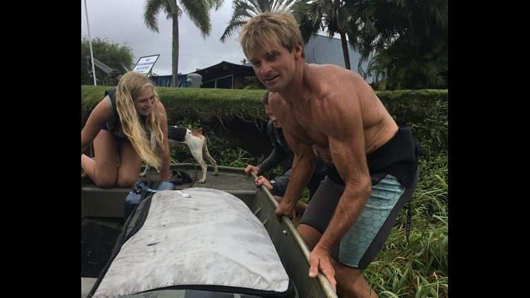 Surfer rescuer