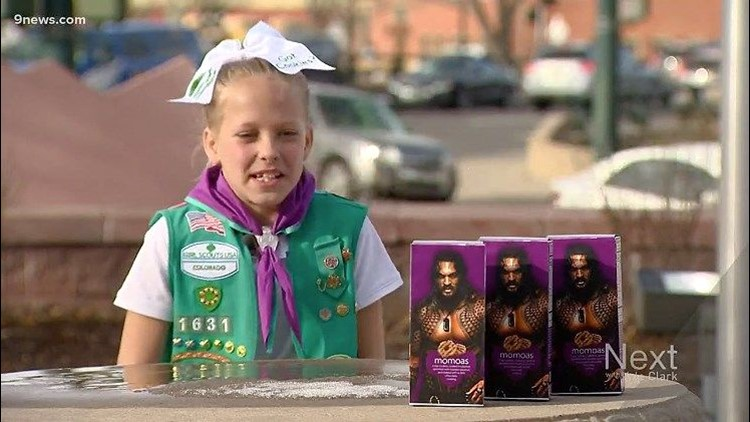 Momoas For Sale Colorado Girl Scout Markets Her Cookies With