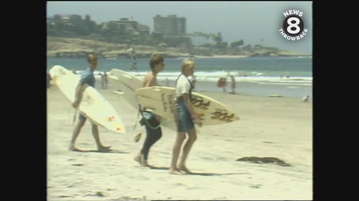 Summer begins in San Diego in 1986