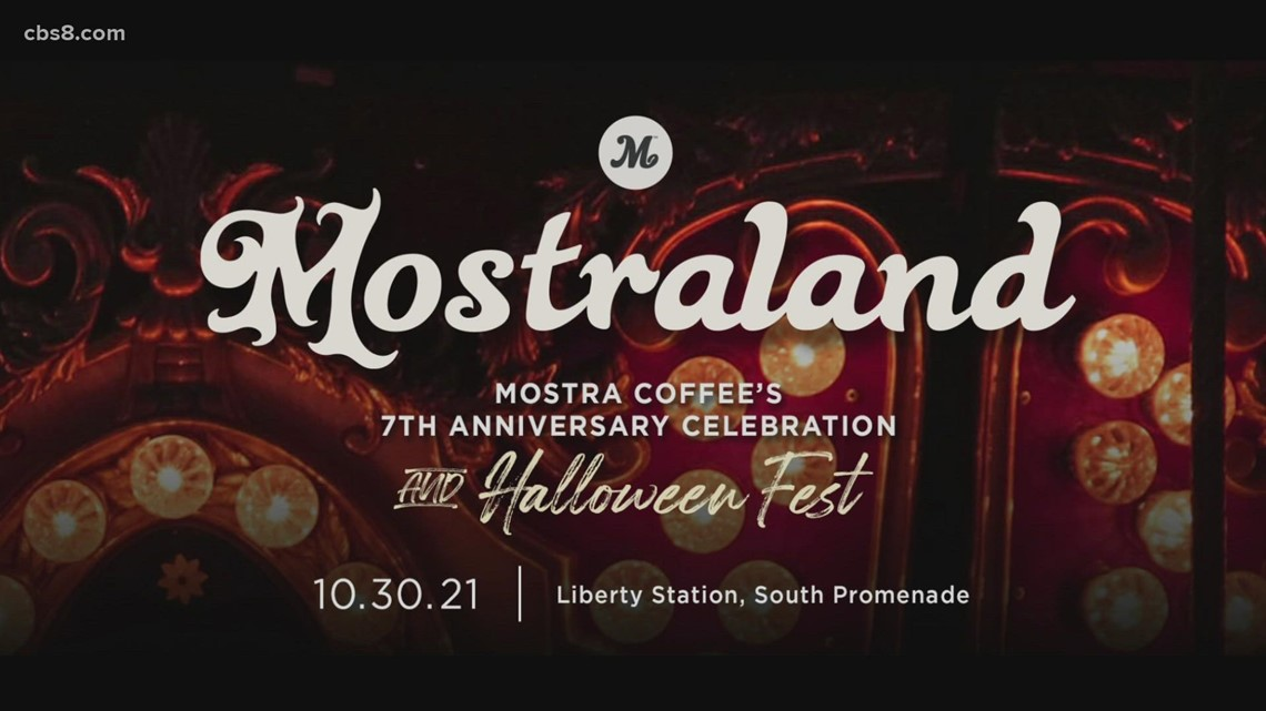 Mostra Coffee holding fun anniversary event for a great cause