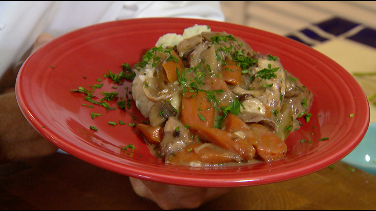 Cooking with Styles: Coq Au Vin