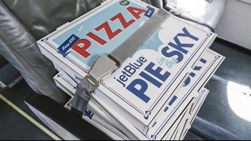 JetBlue to deliver fresh NYC pizza to Los Angeles | cbs8 com