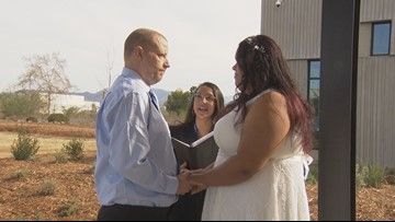 County of San Diego starts weddings at new Santee office