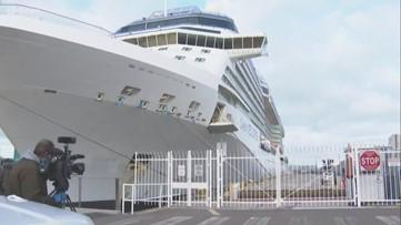 Celebrity cruise ship passengers to disembark in San Diego, undergo screening