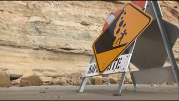 San Diego beachgoers urged to sit away from cliff sides after recent bluff collapses
