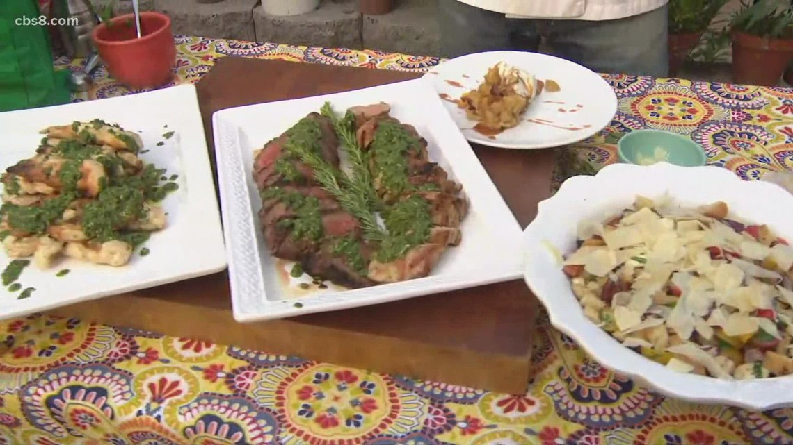 Grilling with Styles: Labor Day menu