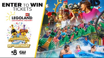 Celebrate 20 years with LEGOLAND® California Resort!
