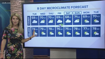 MicroClimate Forecast Tuesday June 18, 2019 (Morning)