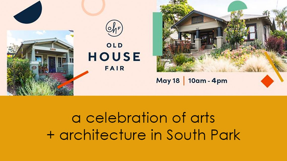 21st annual Old House Fair: a celebration of South Park's art and architecture is on May 18