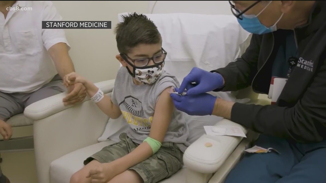 COVID vaccine approval sought for kids ages 5 to 11