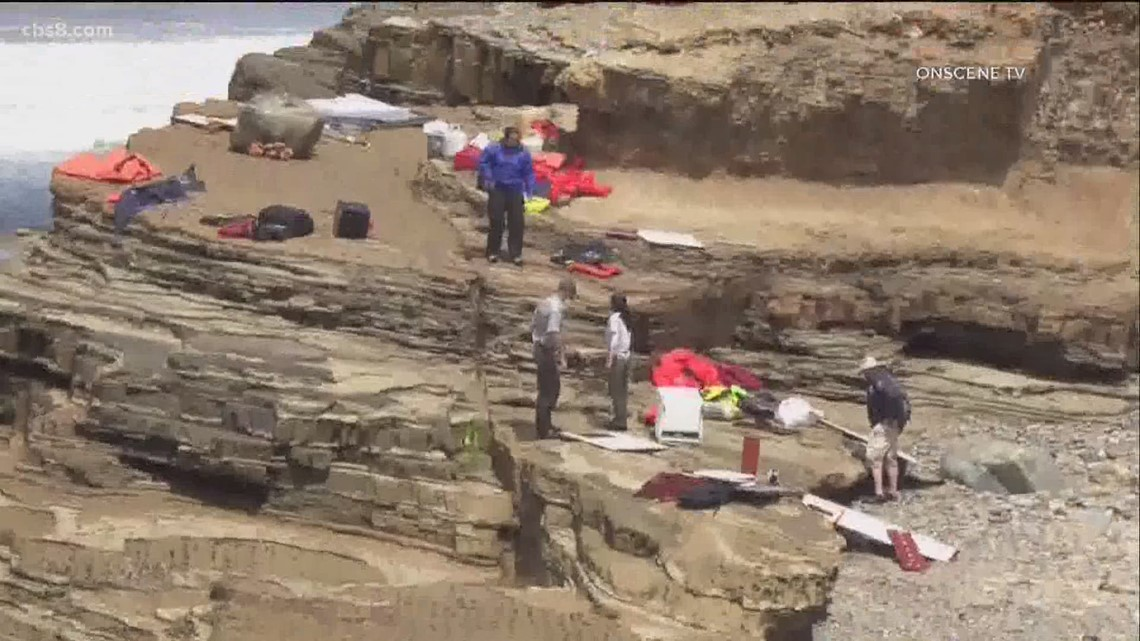 Suspected smuggling boat capsizes off San Diego coast, killing 4, sending 26 to hospitals