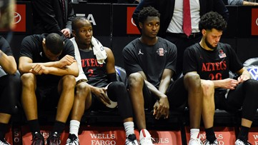 Winning streak ends for San Diego State Aztecs men's basketball team