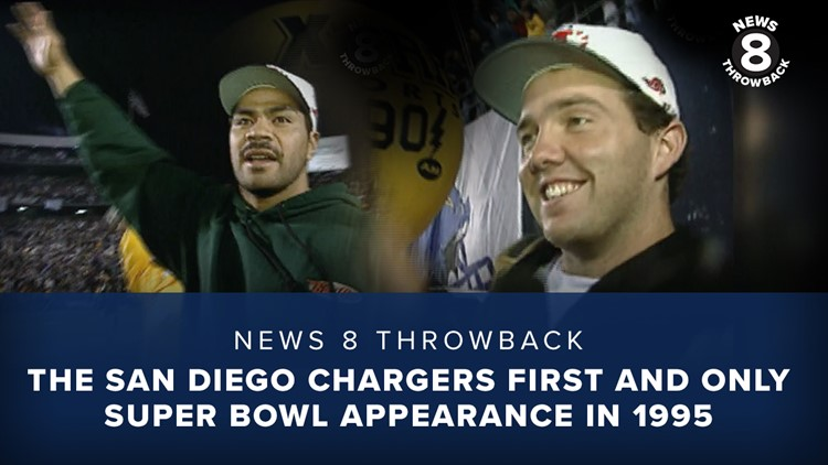 News 8 Throwback: The San Diego Chargers first and only Super Bowl appearance in 1995