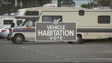 San Diego prohibits homeless from living and sleeping in vehicles