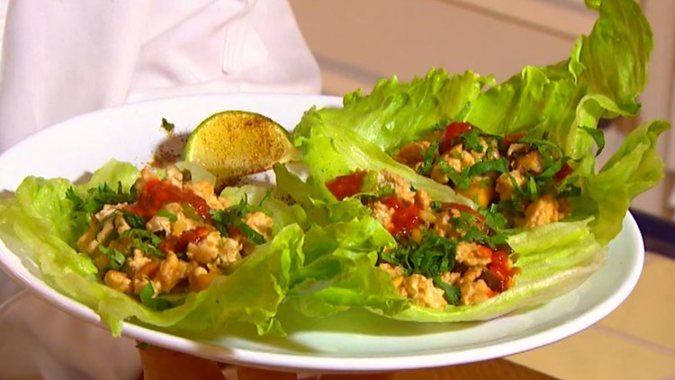 Cooking with Styles: Asian chicken lettuce wraps