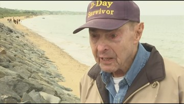 Army medic who saved countless lives in WWII returns to Normandy for D-Day