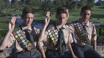 Three brothers earn Eagle Scout Award