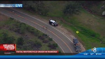 Fatal motorcycle crash in Ramona | cbs8 com