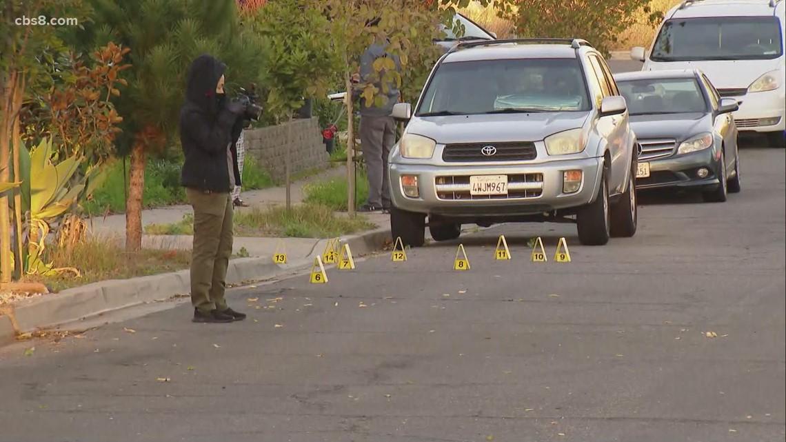Shooting investigation in Serra Mesa