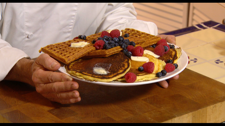 Cooking with Styles: Lemon ricotta waffles/pancakes