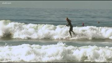 Surfing Santas turn tradition into toy drive