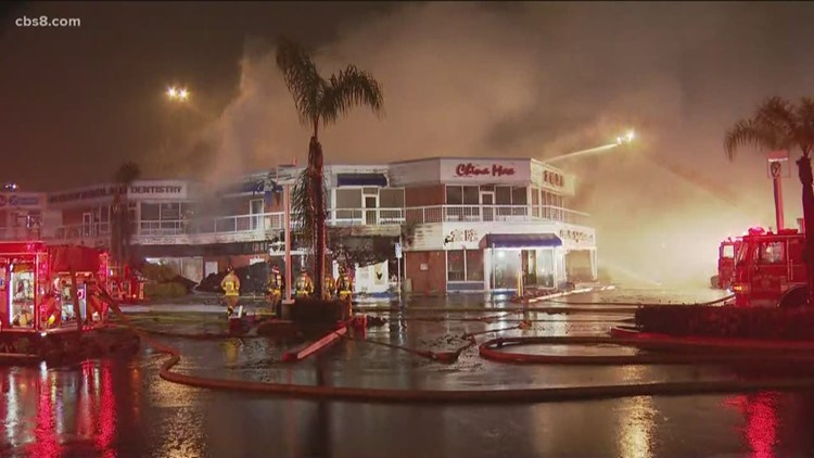 3-alarm fire guts China Max Seafood Restaurant in Kearny Mesa, causes $4.5M in damage
